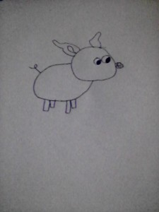 Day 2 result of my pig drawing endeavor