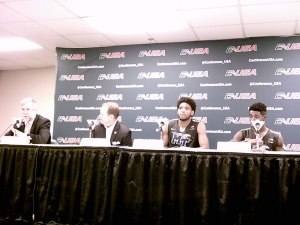 Middle Tennessee's Press Conference after continuing their magical run in the C-USA Tournament