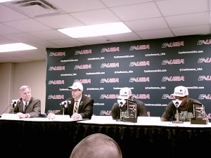 UAB's Press Conference after winning the C-USA Title